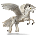 cheval sauvage harfang des neiges