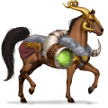 cheval divin heimdall