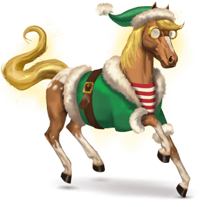 cheval divin merry christmas